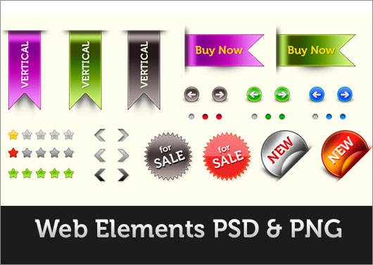 Web-elements-pack-(PSD-&-PNG)