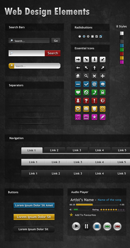 web-elements-preview